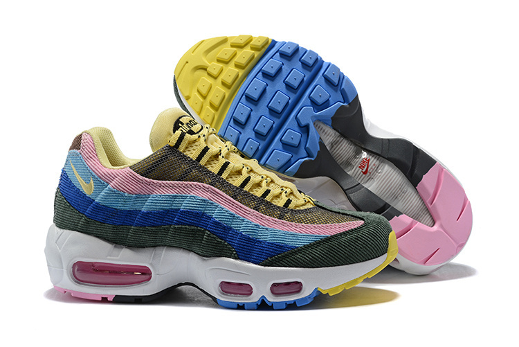 the latest f48c1 4cfa0 Nike Air Max 95 Essential Sean Wotherspoon Hybrid Women's Men's Running  Shoes NIKE-ST002863