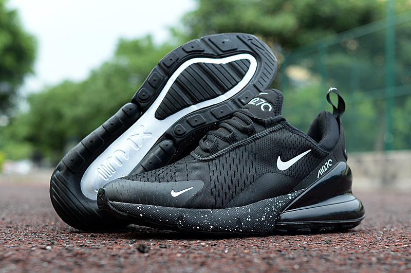 size 40 wide varieties retail prices Nike Air Max 270 Black White Men's Casual Shoes NIKE-ST002970