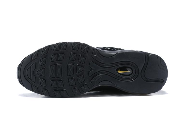 ba7e4c27d8 Excellent Nike Air Max 98 X Supreme Triple Black 844694 001 Men's Running  Shoes