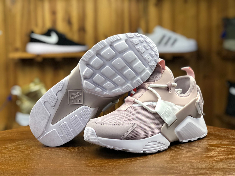 7ada29a1f323 Nike Air Huarache City Low Particle Rose Pink AH6804 600 Women s Casual  Shoes