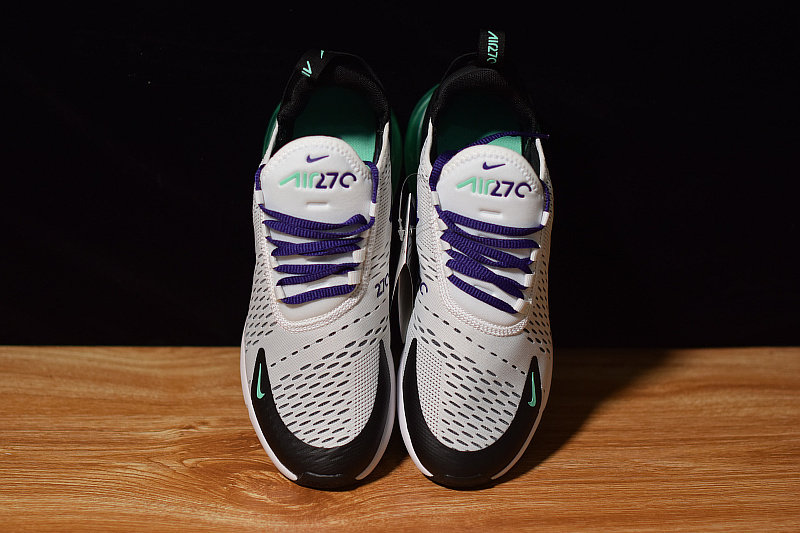 separation shoes ff702 eb260 Nike Air Max 270 White Court Suprle Mint Candy Black AH8050 103 Women s  Men s Casual Shoes