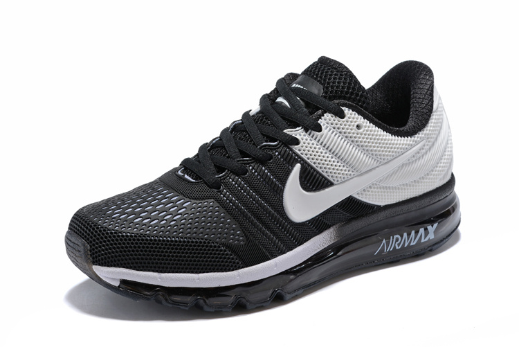 chaussures de séparation d0d25 26d51 Nike Air Max 2017 KPU Black White 849560 704 Men's Running Shoes 849560--704