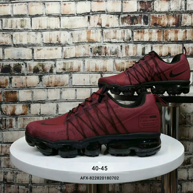 72ce2565887c Nike Air Vapormax Flyknit 2018 Bright Red Black Men s Running Shoes ...
