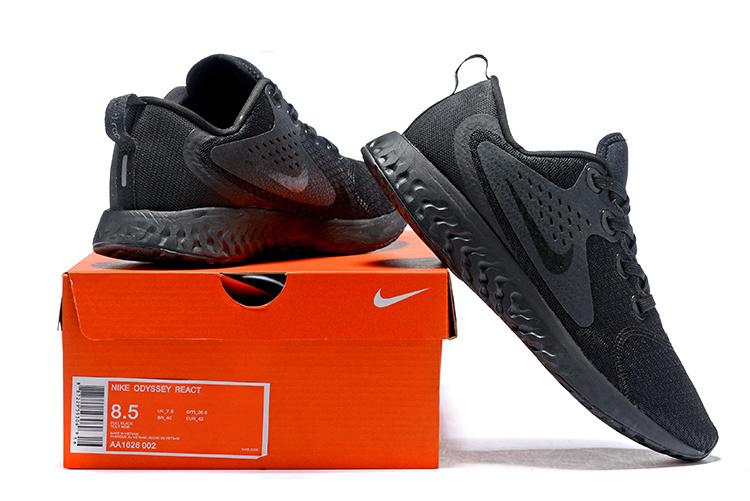 3af97381f93cb Nike Odyssey React Black White Black AO9819 010 Men s Sportswear ...