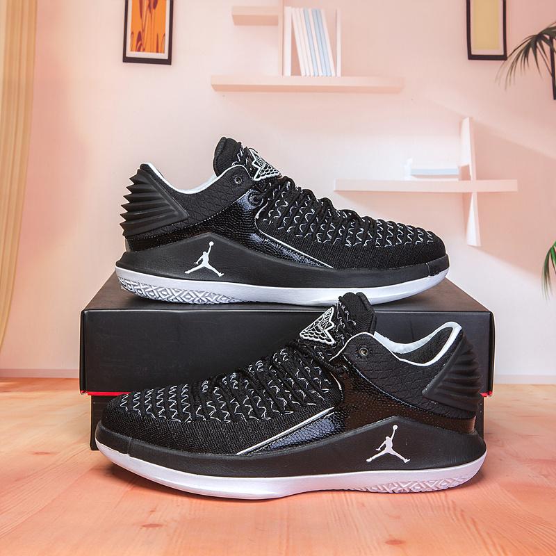 f5efe0d82e0 Best Sell Air Jordan 32 XXXII Low Black White Men s Basketball Shoes ...