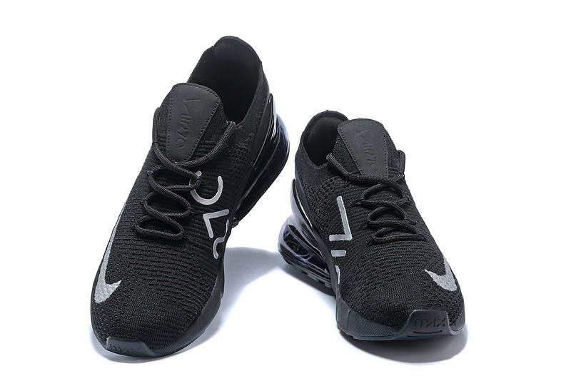 info for dc9ad 81fab Nike Air Max 270 Flyknit Black White Women's Men's Casual Shoes  NIKE-ST002928