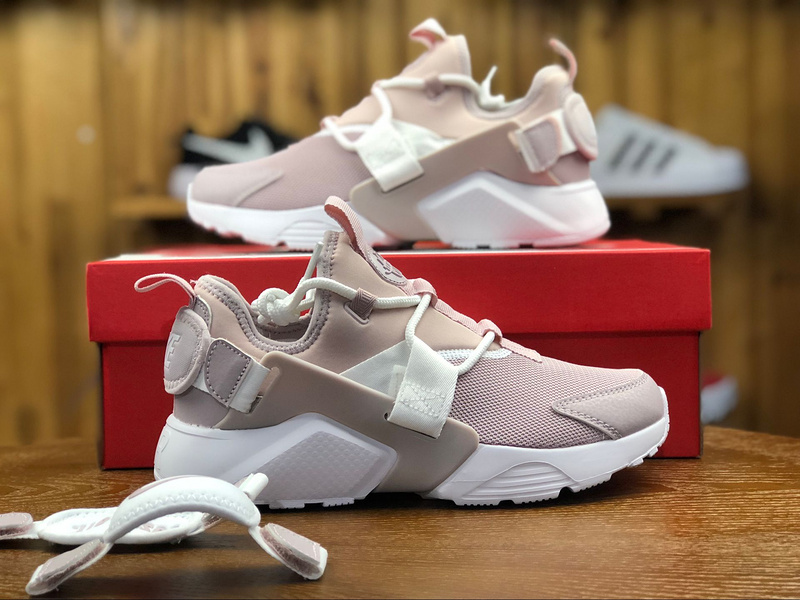 94d9e0d538ad7 Nike Air Huarache City Low Particle Rose Pink AH6804 600 Women s Casual  Shoes
