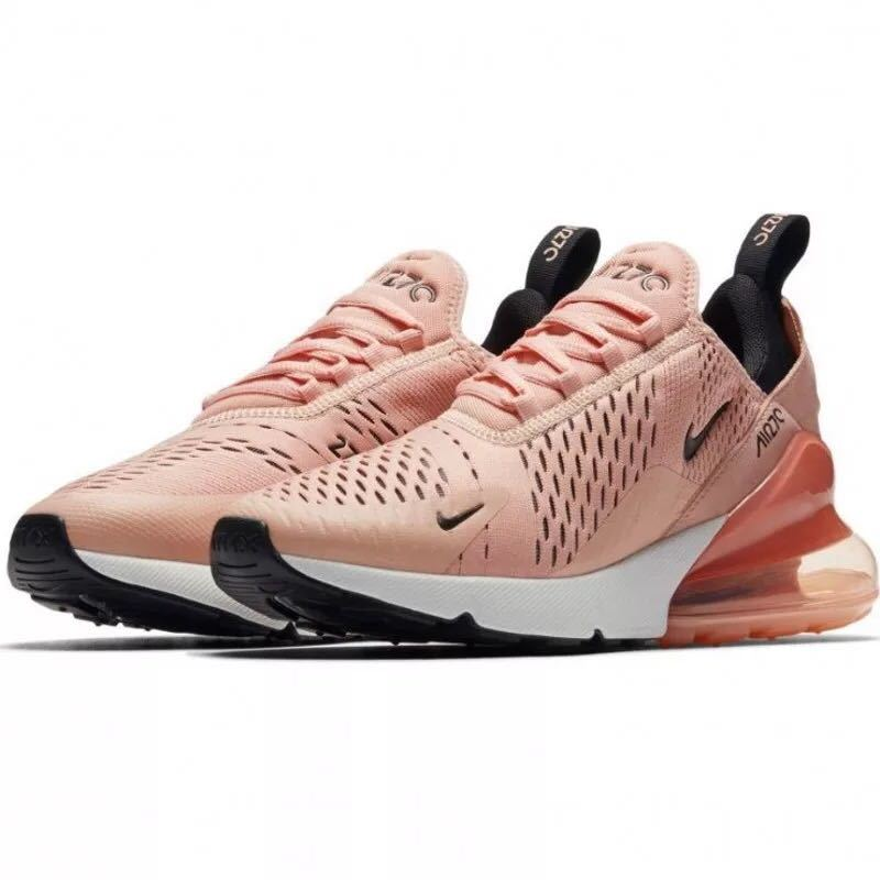 info for a5845 2789f Nike Air Max 270 Pink Black White Women's Casual Shoes NIKE-ST002952
