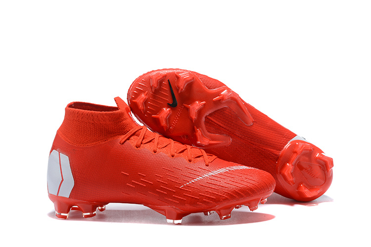 best sneakers a5746 21654 Nike Mercurial Superfly 360 Elite FG October Red White Men's Soccer Cleat  Shoes NIKE-ST003419
