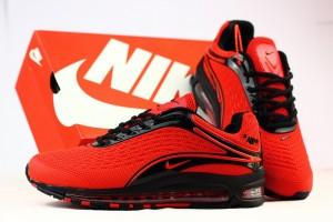 275eff82609 Men s Running Shoes Nike Air Max Deluxe OG 1999 Kpu October Red Black