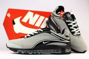 04a8691638 Nike Air Max 360 Kpu Grey Black Men's Running Shoes NIKE-ST001224 ...