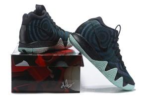 e5de64fde9b Nike Kyrie 4 Black Laser Fuchsia 943806 007 Men s Basketball Shoes