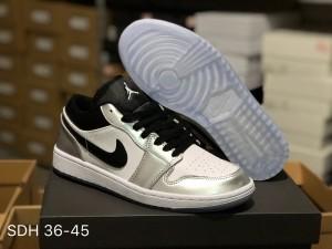 a2e35669f13dff Air Jordan 1 Retro Low Kawhi Leonard Medial Silver Womens Mens Athletic  Basketball Shoes
