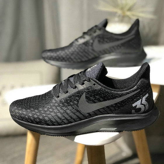 13cada31b8d8a Nike Air zoom Pegasus 35 Shield Triple Black Women s Men s Casual Shoes NIKE-ST003479
