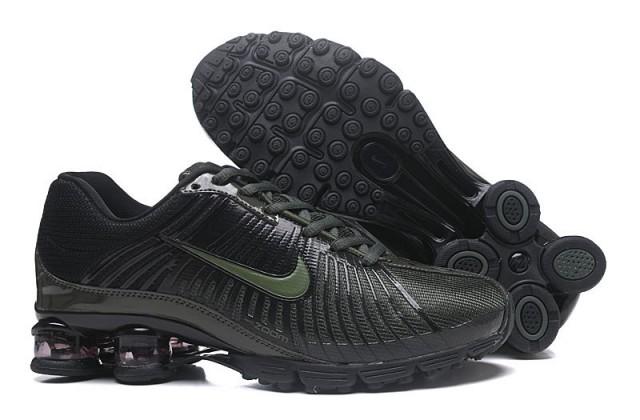 4104f703129932 Nike Air Shox Fabrique 2018 Black Green Men s Running Shoes NIKE ...