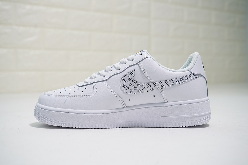 hot sale online 85c5a 6fc39 Just do it Nike Air Force 1 07 LV8 White ...