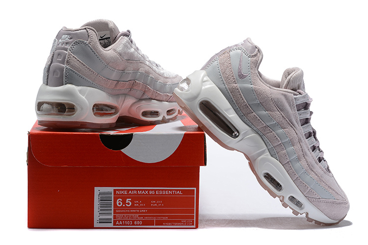 on sale e2abf 3d0e4 Nike Air Max 95 Deluxe Particle Rose Dusty Peach Bio Beige AA1103 600  Women's Casual Shoes AA1103-600