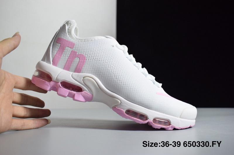 a396b27e05b Women s Nike Mercurial Air Max Plus Tn SE Whtie Pink Running Shoes NIKE-ST003616