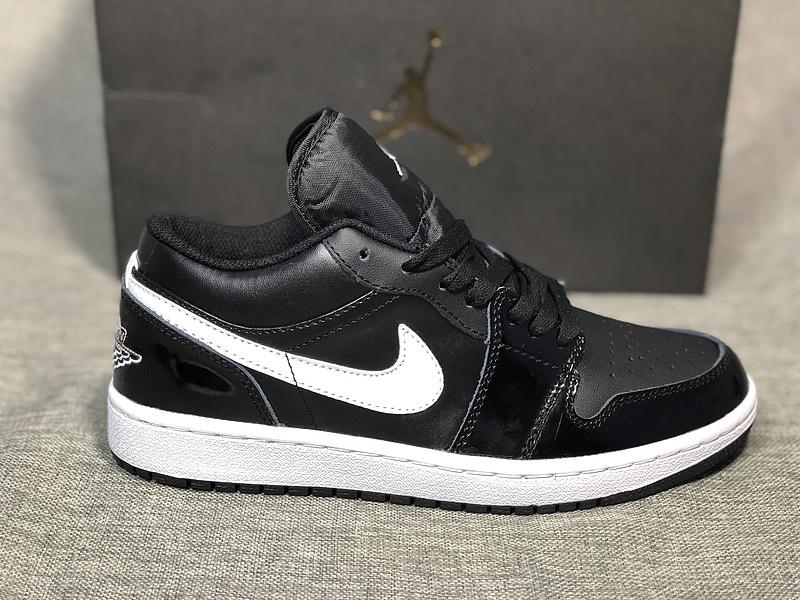 promo code 69583 3c94d Air Jordan 1 Low Black White Womens Mens Athletic Basketball Shoes  NIKE-ST003913