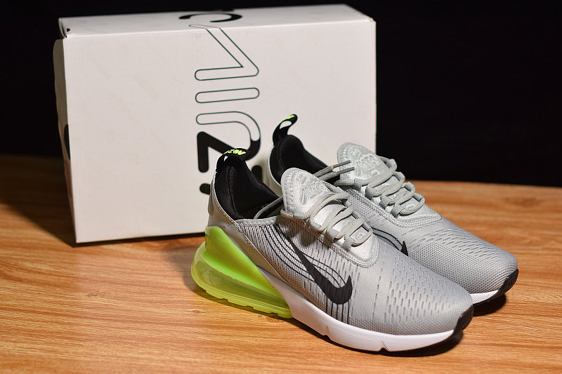 a03b6e7db352 Durable Nike Air Max 270 Fifa World Cup Russia 2018 Grey Black Green White  ...