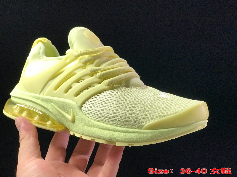 promo code a85d7 c124c Nike Air Presto TP QS Triple Yellow Women's Running Shoes NIKE-ST003671