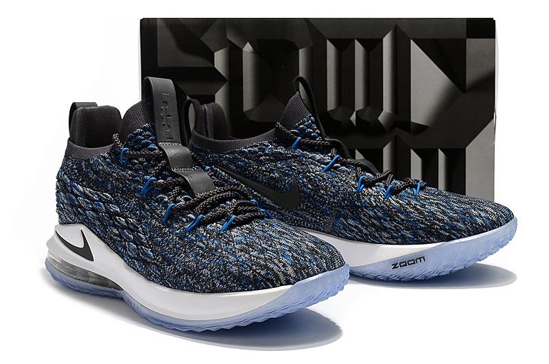huge discount d9079 e91e6 Nike LeBron 15 Low EP Signal Blue AO1756 400 James Men's Basketball Shoes  AO1756-400