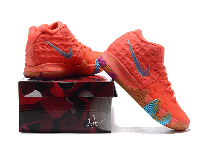 2893355bef5 Nike Kyrie 4 GS Lucky Charms Bright Crimson Multi-color 943806 600 ...