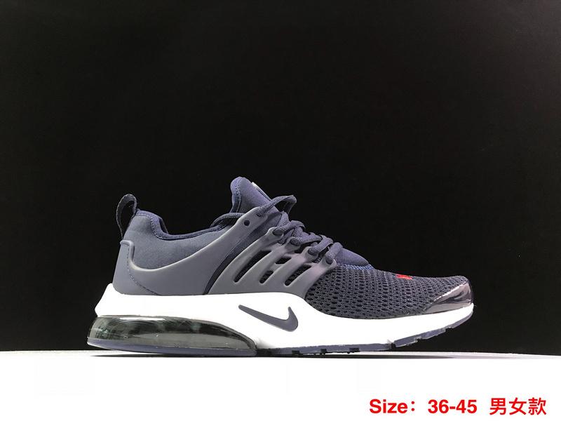 Nike Air Presto TP QS Obsidian White Red Men's Running Shoes