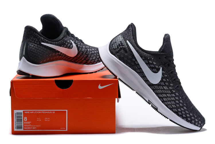 wholesale dealer 9fc12 af92c Men s Casual Shoes Nike Air Zoom Pegasus 35 Black Gunsmoke Oil Grey White  ...