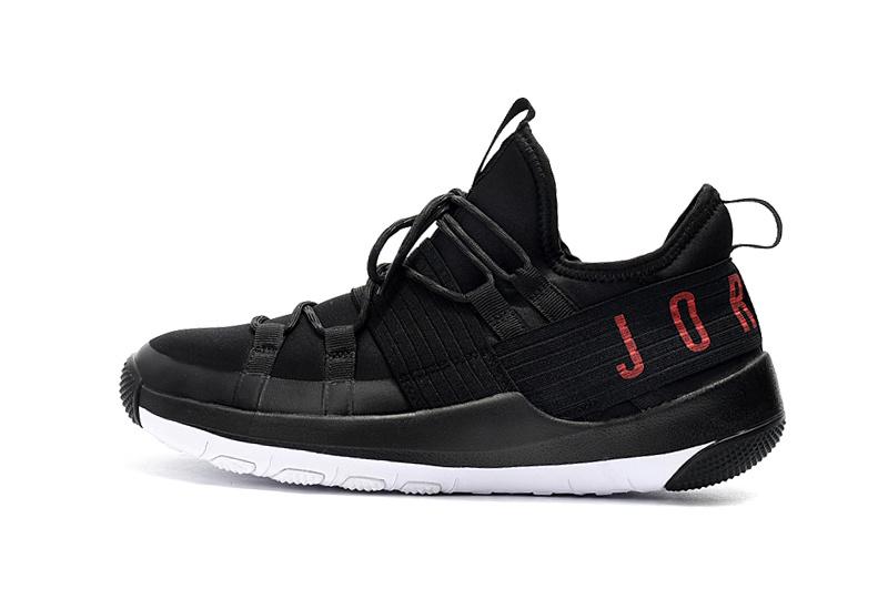 4cd3ff95c679d6 Jordan Trainer Pro Black White Red AA1344 003 Men s Basketball Shoes ...