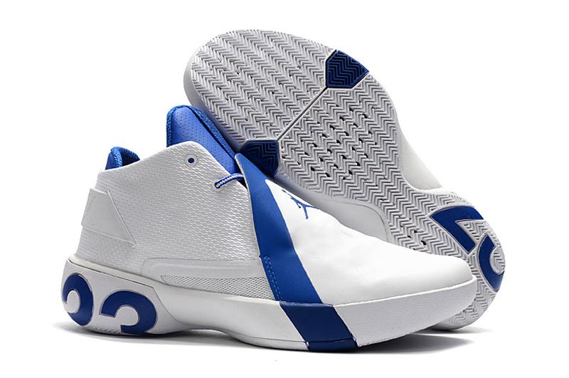 b9c98f825 Air Jordan Ultra Fly 3 White Royal Blue Men s Basketball Shoes NIKE ...