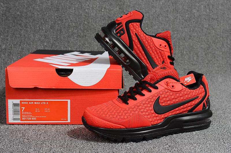 7bf3149260 Men's Running Shoes Nike Air Max LTD 3 Mod Kpu Bright Red Black ...