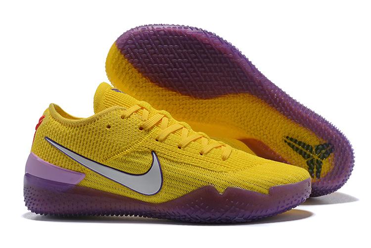the latest 6b152 1104a Nike Kobe AD NXT 360 Mamba Day University Gold Court Purple AQ1087 700 Men s  Basketball Shoes