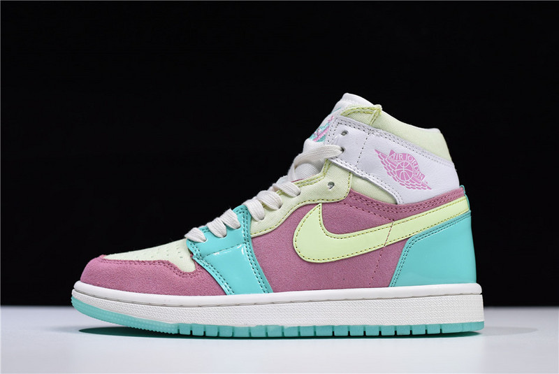 new style b968e 1078a Women s Air Force 1 07 QS Pink Bule Casual Shoes Sneakers