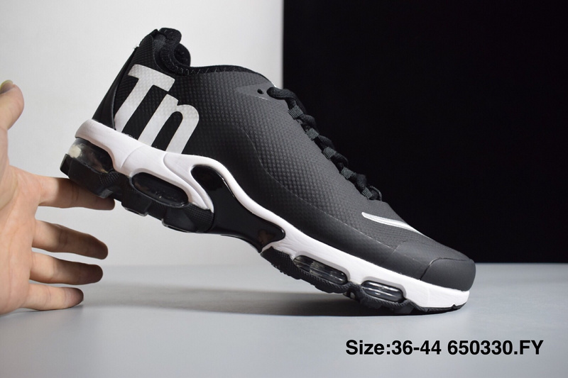 Nike Mercurial Air Max Plus Tn SE Black White Men's Running Shoes NIKE ST003621