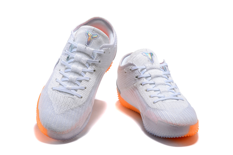 cheap for discount 80ded 8fd07 Nike Kobe AD NXT 360 Mamba Day White Multi Infrared 23 AQ1087 100 Men s  Basketball Shoes