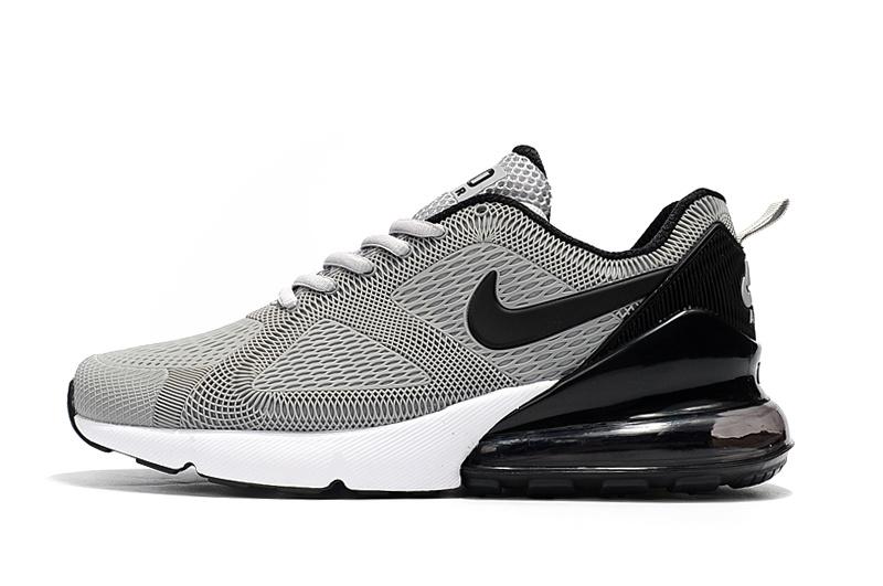 size 40 78963 b10d0 Nike Air Max 180 270 KPU Wolf Grey White Black AH8060 007 Men's Casual  Shoes AH8060-007