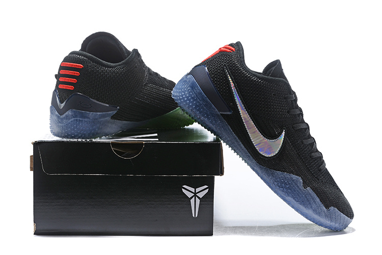 new arrival c0d49 37f11 Nike Kobe AD NXT 360 Mamba Day Black Coral Stardust AQ1087 001 Men's  Basketball Shoes AQ1087-001