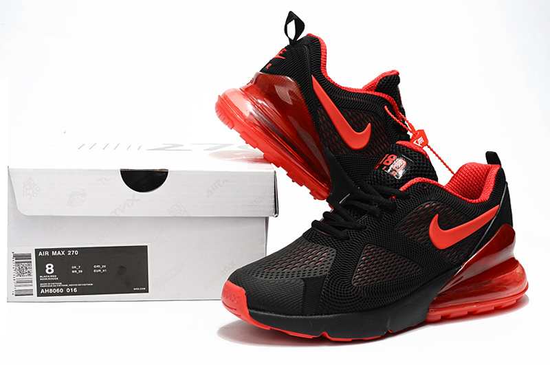 Nike Shoes | Air Max 270 Oil Grey Black And Red Mens 11