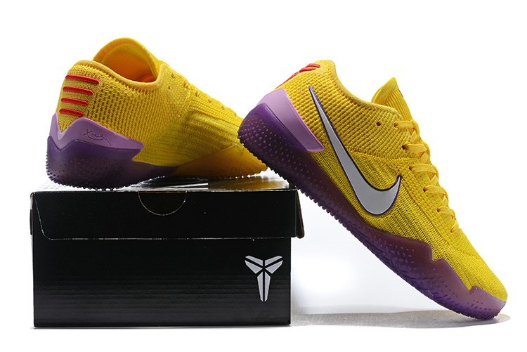 93cd100300a1 Nike Kobe AD NXT 360 Mamba Day University Gold Court Purple AQ1087 700 ...
