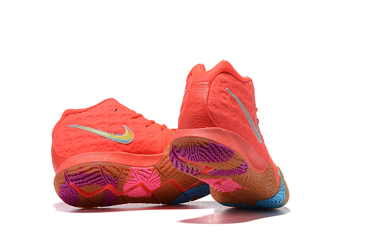new arrival 648f4 06c37 Nike Kyrie 4 GS Lucky Charms Bright Crimson Multi-color 943806 600 Men's  Basketball Shoes 943806-600