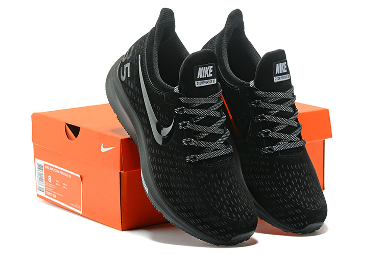 official photos 06928 209bb Men's Casual Shoes Nike Air Zoom Pegasus 35 Suede Black Grey 728857 008  728857-008