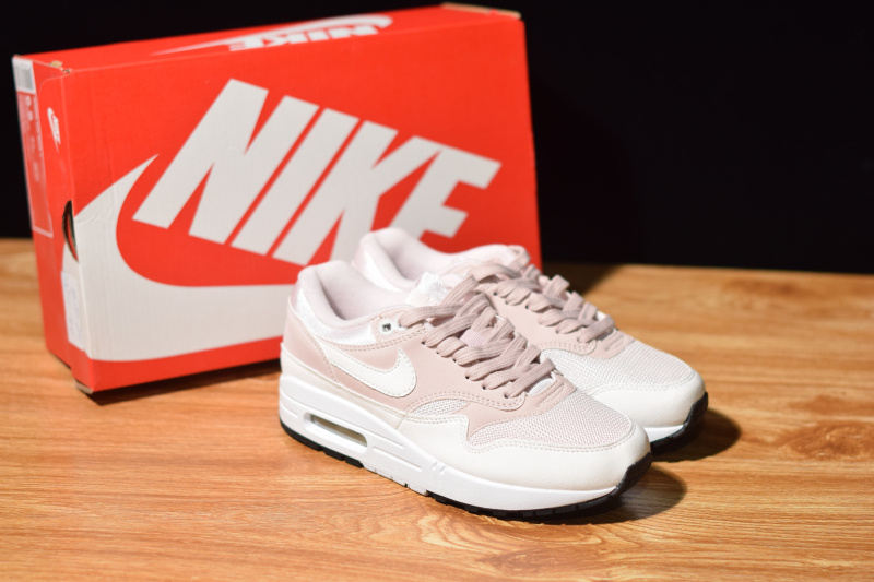 purchase cheap 865c6 da5d0 Nike WMNS AIR MAX 1 Barely Rose 319986 607 Women s ...