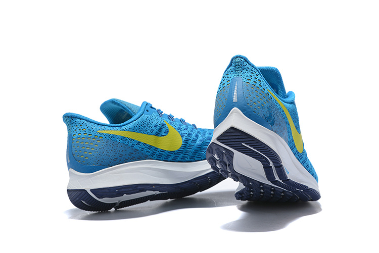buy popular 32d3f 56b25 Men's Casual Shoes Nike Air Zoom Pegasus 35 Blue Orbit Blue Void Pure  Platinum Bright Citron 942851 400 942851-400