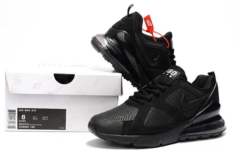 Nike Air Max 180 270 KPU Triple Black AH8060 100 Men s Casual Shoes ... 717b754f7