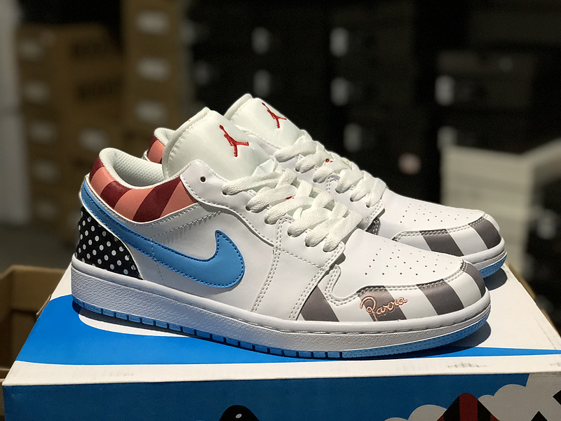 low priced d21a2 8db7e OFF-WHITE x Air Jordan 1 Low x 1 White Multi Rainbow Womens Mens Athletic  Basketball Shoes NIKE-ST003898