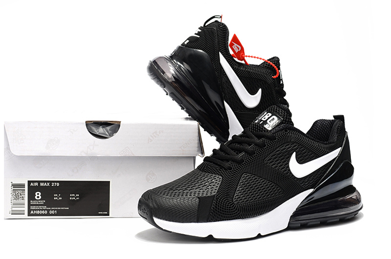 Nike Air Max 180 270 KPU Black White AH8060 001 Men's Casual Shoes AH8060 001a