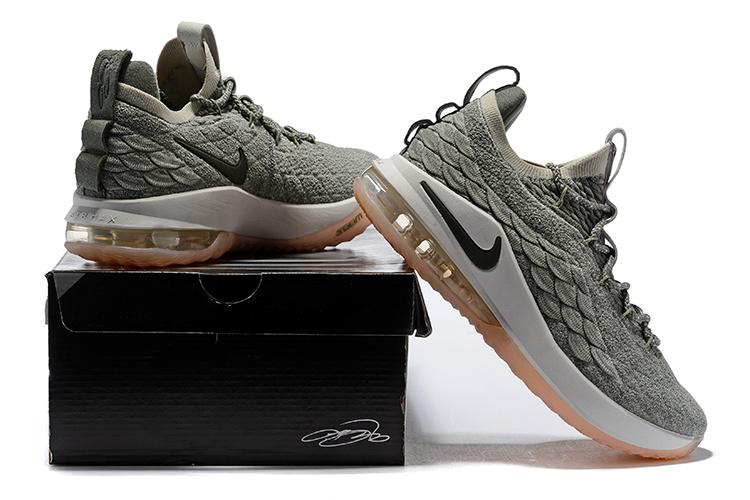 7c17c368a182 Nike LeBron 15 Low EP Light Bone Dark Stucco AO1756 003 James Men s  Basketball Shoes