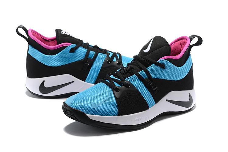 affd16edb3b803 Nike PG 2 EP Paul George Blue Lagoon Hyper Violet White Black AJ2039 402 Men s  Basketball