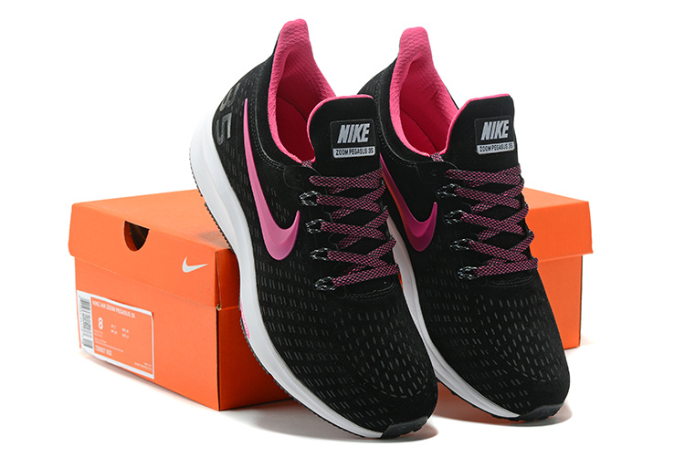 best service 184c7 71923 Women's Casual Shoes Nike Air Zoom Pegasus 35 Suede Black Pink White 728857  003 728857-003